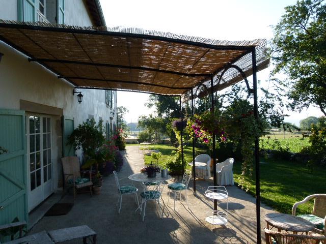 Notre terrasse plein sud